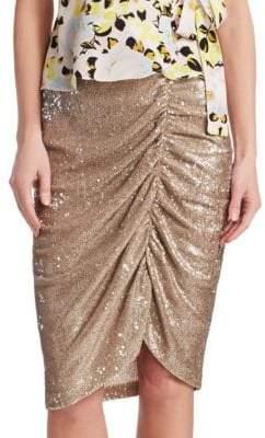 Nanette Lepore Silver Screen Skirt