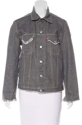 Levi's Distressed Denim Jacket