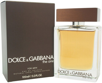 Dolce & Gabbana Men's The One 3.3Oz Eau De Toilette Spray