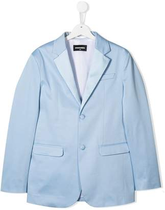 DSQUARED2 TEEN single-breasted blazer