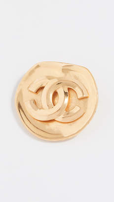 Chanel What Goes Around Comes Around CC Pin