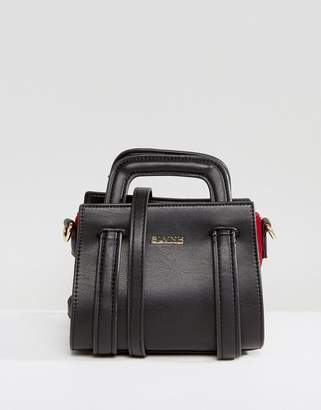 Silvian Heach Structured Crossbody Bag With Handle Detail