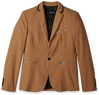 GUESS Men's Newham Wool Blazer
