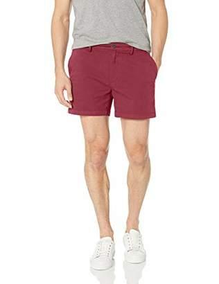 Goodthreads Men's 5 Inch Inseam Flat-Front Stretch Chino Short