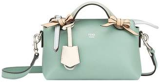 Fendi green By The Way leather tote