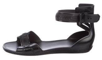 Givenchy Ankle Strap Jelly Sandals