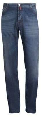 Kiton Stretch Cotton Straight Jeans
