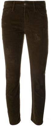 DSQUARED2 distressed corduroy trousers