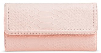 Mossimo Women's Faux Leather Flap Wallet - Mossimo $14.99 thestylecure.com