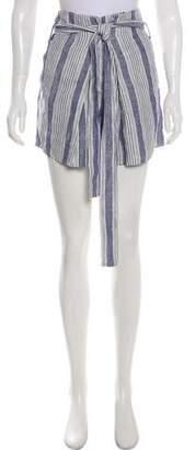 Jenni Kayne Linen Striped Shorts