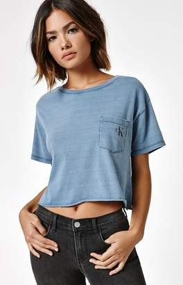 Calvin Klein Iconic Sports Pocket T-Shirt