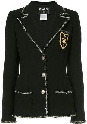 Chanel Pre-Owned patch detail blazer
