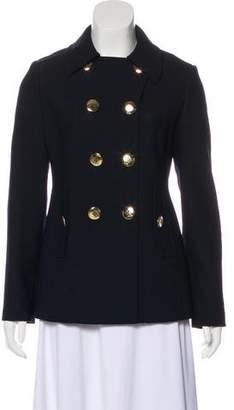 Tory Burch Wool-Blend Structured Blazer