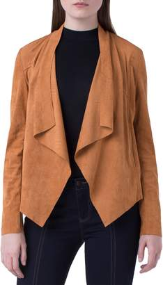 Liverpool Perforated Draped Jacket
