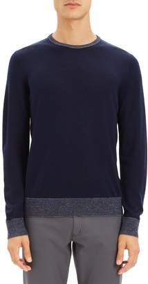 Theory Rothley Merino Wool Crewneck Sweater