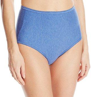 Vanity Fair Women's Illumination Cotton Stretch Brief Panty 13316 $10.50 thestylecure.com