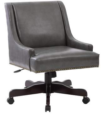 ... Beachcrest Home Ironwood Mid Back Desk Chair