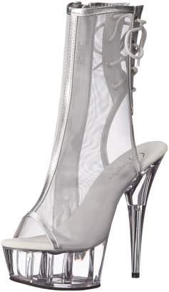 Pleaser USA DEL1018MSH/S-PU/C Women's Boot