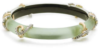 Alexis Bittar Open Knot Hinge Bracelet