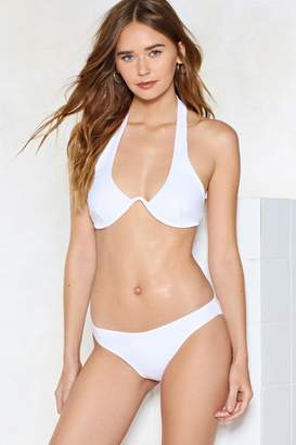 Nasty Gal Sun is Shining Halter Bikini Set