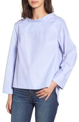 J.Crew Funnel Neck Shirt