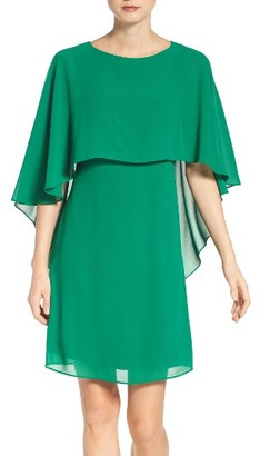 Women's Vince Camuto Cape Overlay Dress $148 thestylecure.com