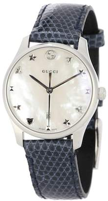 8e698e54f29 Gucci G-Timeless stainless steel watch