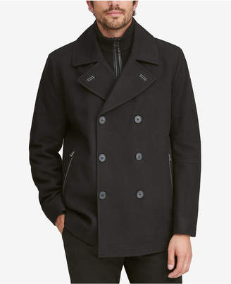 Andrew Marc Men's Emmett Wool Peacoat