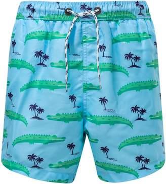 Snapper Rock Croc Island Board Shorts