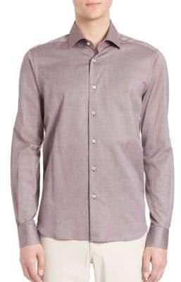 Saks Fifth Avenue Buttoned Cotton Shirt