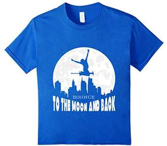 Pogo Stick Rider's T-Shirt - Bounce To The Moon And Back