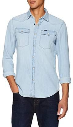 G Star Men's 3301 Shirt L/s Denim