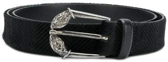 Just Cavalli snake head buckle belt