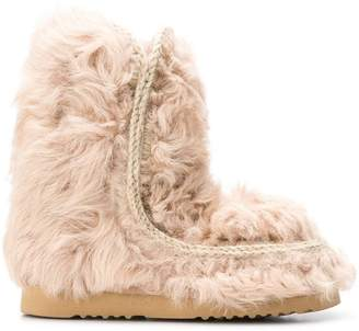 Mou fur ankle boots