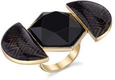 House Of Harlow Hexagonal Ring
