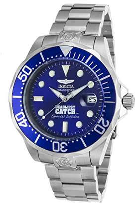 Invicta Men's 'Pro Diver' Automatic Stainless Steel Casual Watch