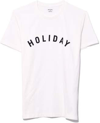 Holiday Logo T-Shirt in White
