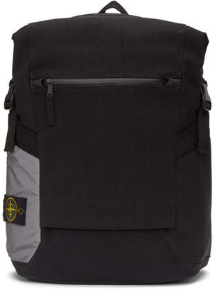 Stone Island Black 91670 Backpack