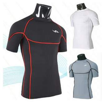 ONLINE Men's Cool Dry Skin Fit Long Sleeve Compression Shirt