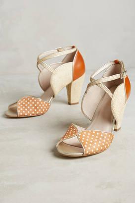 Farylrobin Polka Dot Heels $158 thestylecure.com