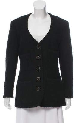 Anna Sui Wool Woven Jacket