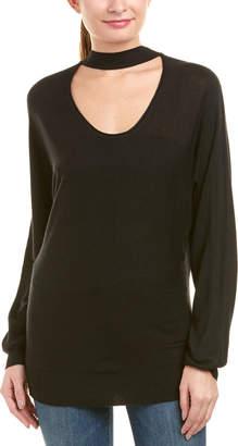 Splendid Choker Neck Pullover
