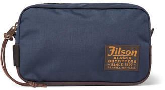 Filson Nylon And Canvas Wash Bag