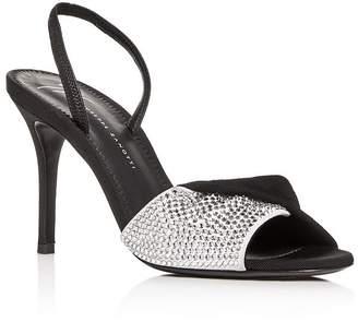 8a9e39f47 Giuseppe Zanotti Women s Swarovski Crystal Slingback High-Heel Sandals