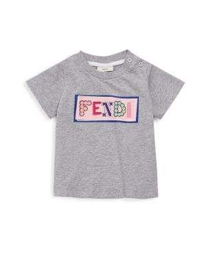 Fendi Baby's Graphic Cotton Tee