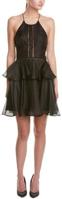 Cynthia Rowley Linen & Silk-Blend A-Line Dress