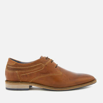 Dune Men's Buckhurst Leather Derby Shoes - Tan