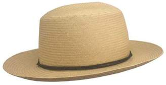 Yestadt Millinery Tan Voyager Straw Hat