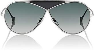 Loewe Women's Puzzle Medium Sunglasses - Shiny Rhodium And Gradient Smoke