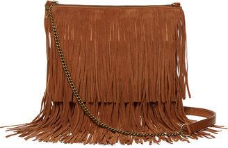 ARIZONA Arizona Fringe Crossbody Bag $65 thestylecure.com